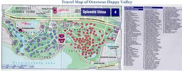 shenzhen overseas happy valley tourist map