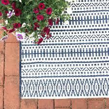 new ikat indoor outdoor rug outdoor rug pattern stripe blue target suzanne kasler ikat indoor outdoor