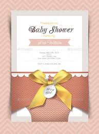 40 Baby Shower Card Designs Templates Word PDF PSD EPS Beauteous Free Invitation Card Templates For Word