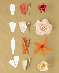 Making Flower Using Crepe Paper How To Make Crepe Paper Flowers Martha Stewart