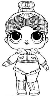 And are happy to present you coloring pages with your favorite lol dolls. Lol Doll Coloring Pages Coloring Rocks