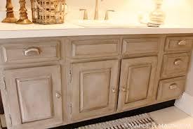 Update Oak Cabinets Master Bathroom Makeover Maple Magnolia