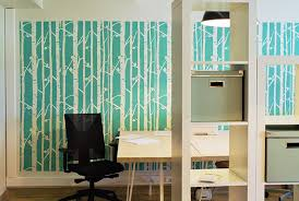 wallpaper for office wall. Birch Tree Wall Stencil Decorative Scandinavian Large DIY Wallpaper Look Easy Home Or For Office