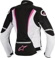 alpinestars womens stella t jaws air armored textile riding jacket black
