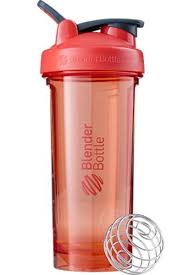 <b>Спортивный шейкер Pro28</b> Full Color, красный (коралловый)