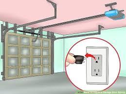 garage doors spring adjustment image titled adjust a garage door spring step garage door tension spring
