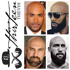 Designer Beards Bald With A Beard Is A Combination That Works At Every