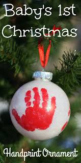 Christmas Crafts Babies Part  30 Babyu0027s First Christmas Or A Christmas Crafts With Babies