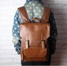 new men backpacks vintage leather backpack big size travel bag student casual laptop backpack school bags