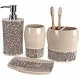 Decorative Bathroom Accessories Sets Amazon Decorative Bathroom Accessory Sets Bathroom 3