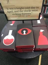 anitafinucane on twitter like these cover designs for orwell s 1984 a lot pretty beautiful history of book covers s t co o80no2nnji