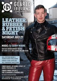geared ireland leather rubber and night