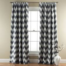 Black Patterned Curtains Awesome Decorating Ideas