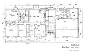 House Plans With Country Kitchens   Country Ranch House Floor Plan    House Plans With Country Kitchens   Country Ranch House Floor Plan