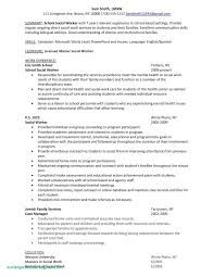 Sample Resume For Social Worker With No Experience Awesome Sample