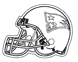 Small Picture Football Helmet Patriots New England Coloring Pages patriots