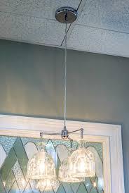 patron bottle chandelier