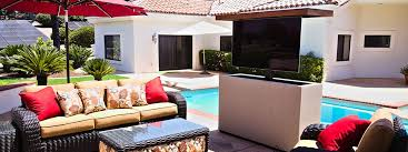 tv lift stucco outdoor cabinet