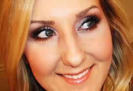 spring smokey eye purple bronze makeup tutorial