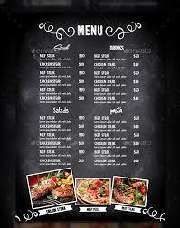 Cafe Menu Template 43 Cafe Menu Templates Psd Eps Indesign Free