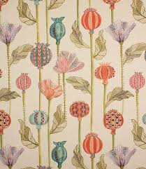 made from a linen cotton mix this modern curtain fabric looks fantastic when made