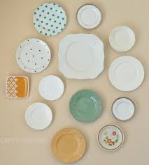 plates how to hang plates plate wall