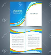 Brochure Templates In Word Magnificent Free Booklet Template Word For Brochure In Bifold Templates