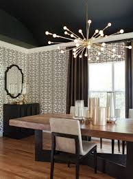 modern dining room lighting