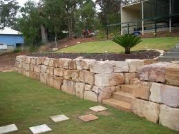 b grade premium sandstone retaining walls