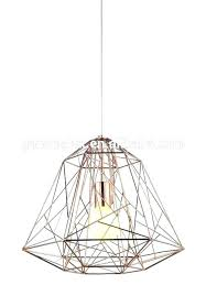 wire pendant light shade copper lamp shade copper light shade copper light shade new design wire diamond pendant lighting bird cage copper lamp shade copper