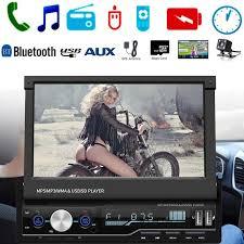 7 inch 1 DIN <b>Touch Screen Car MP5</b> Player GPS Sat NAV Bluetooth ...