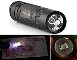 Bazaar <b>Convoy</b> S2+ Nichia 365nm UV LED 1Mode OP Reflector ...