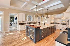 medium size of airy kitchen unfinished wood wooden flooring dark color kitchen island white countertops old