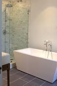 Au0026E Bath Una 71Free Standing Tub With Shower