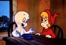 casper and wendy. casper the friendly ghost \u0026 wendy and e