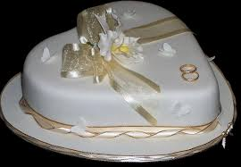 One Tier Heart Shaped Wedding Cake Antonias Cakes Wedding