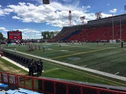 Mcmahon Stadium Section M Row 7 Home Of Calgary Stampeders