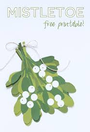 mistletoe free printable i heart nap time