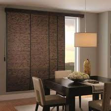 Patio Door Panel Blinds Sliding Home Depot Woven Wood Sliding Panel Track Blinds The