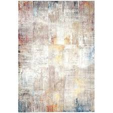 gold area rugs modern abstract polyester grey rug 8 x on free today