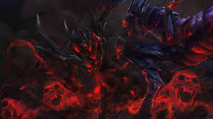 elegant fantasy art video games creature shadow demon dota 2