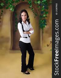 full body standing pose female model