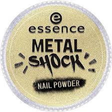 Эффектная <b>пудра</b> для <b>ногтей Metal</b> Shock <b>Nail Powder</b> Золотой ...