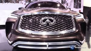 2018 infiniti colors. brilliant 2018 2018 infiniti qx50 concept exterior and interior walkaround within  colors to infiniti colors