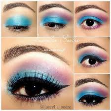 how to apply eye makeup step by step video