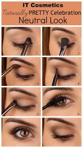 2 natural eye makeup looks an intro to the it cosmetics naturally pretty eyeshadow palette