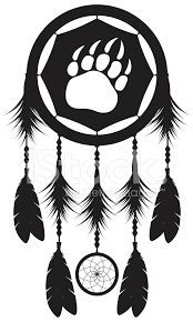 Native Dream Catchers Drawings Dream Catcher Silhouette Stock Vector FreeImages 67