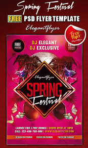 Are You Ready For Spring 20 Awesome Psd Flyer Templates For