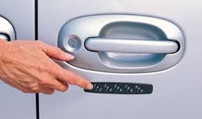 keypad vehicle entry system