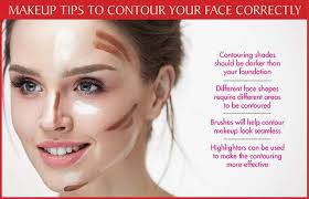 perfectly contour your face with makeup